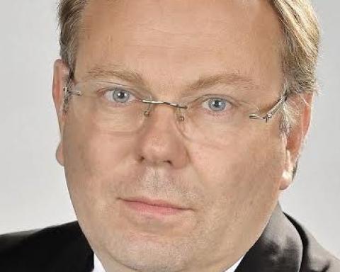 """""""Les organisations terroristes profitent des nombreuses failles du système financier, failles qui s'expliquent par l'absence d'harmonisation des pratiques, des règles et des lois, même au sein des pays de l'Union européenne"""", explique Bruno Dalles, le directeur de Tracfin. (Crédits : A. Salesse)"""