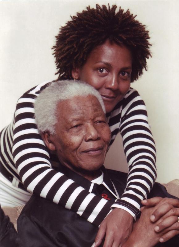 Nelson-and-Ndileka-Mandela