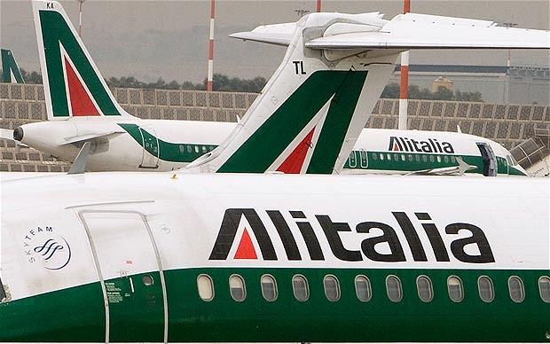 Alitalia-planes-in-Rome